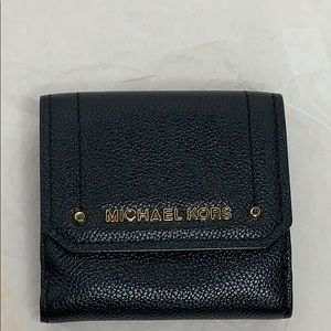 MICHAEL KORS HAYES MED TRIFOLD COIN PURSE WALLET